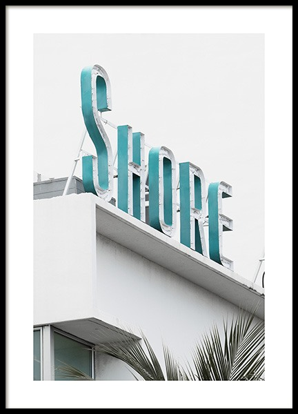 Shore Sign Poster nel gruppo Studio Collections / Studio Coast to Coast / Miami presso Desenio AB (10765)