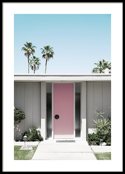 Palm Springs Door Poster nel gruppo Studio Collections / Studio Coast to Coast / Palm Springs presso Desenio AB (10793)