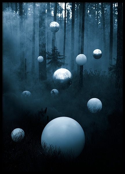 Deep Forest Poster nel gruppo Poster / Studio Collections / Studio Mystery presso Desenio AB (12189)