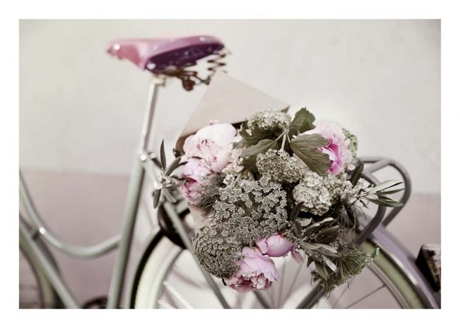 Flowers on Bike Poster / Fotografia presso Desenio AB (10559)