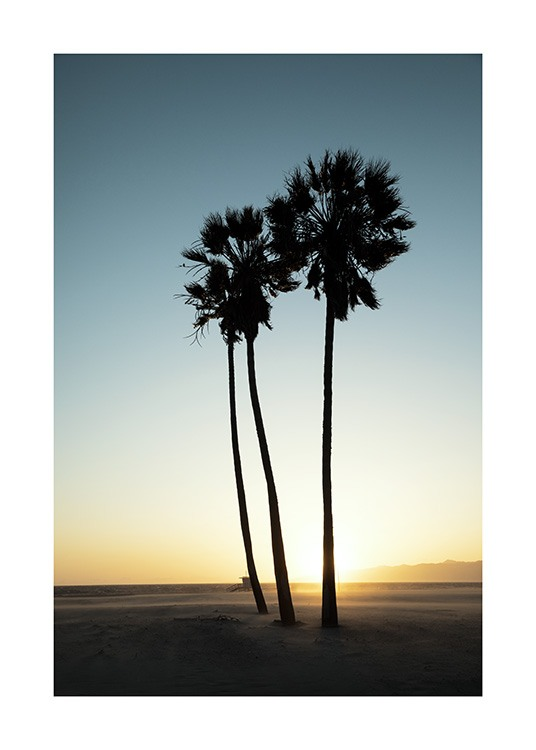 Los Angeles Sunset Poster / Quadri tropicale presso Desenio AB (10786)