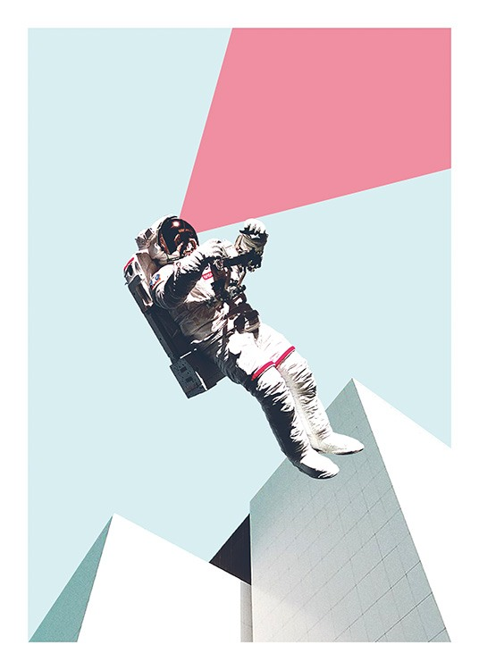 Out of This World Poster / Arte presso Desenio AB (11075)