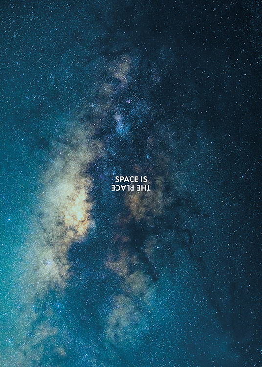 Space is the Place Poster / Natura presso Desenio AB (11169)