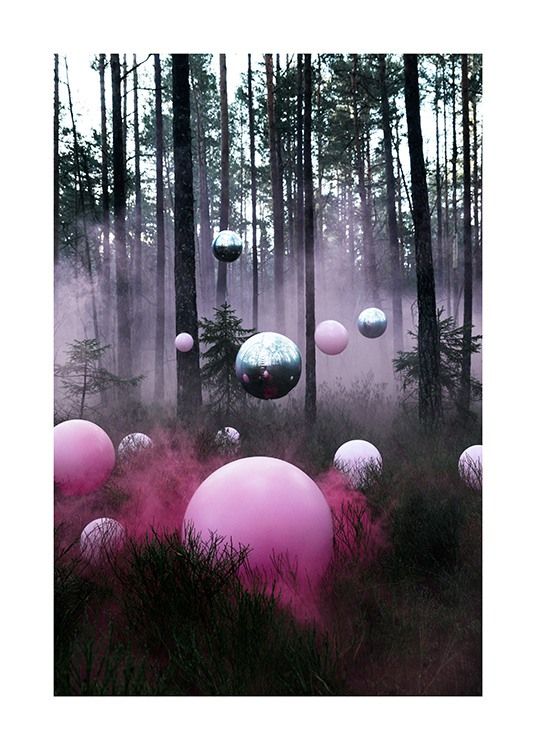 The Mysterious Forest Poster / 70x100 cm presso Desenio AB (12174)