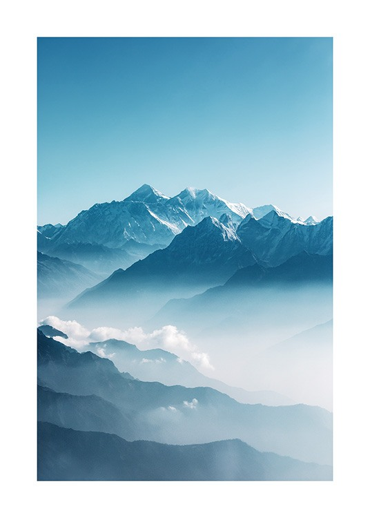 View of Mount Everest Poster / Natura presso Desenio AB (12535)